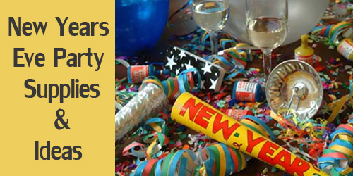 New Years Eve Party Supplies & Ideas for Adults in India