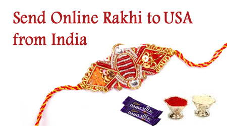 Send Online Rakhi to USA from India
