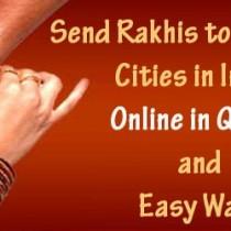 send online rakhis india
