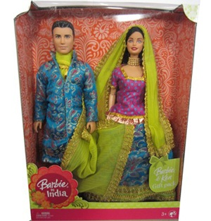 Barbie and Ken in India Gift P