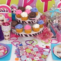 Barbie Birthday Party Ideas for baby Girl