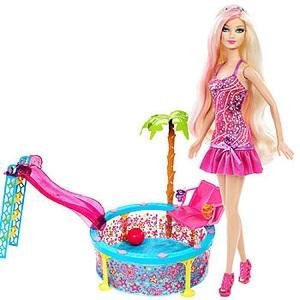 Barbie Glam Pool Fashion Doll