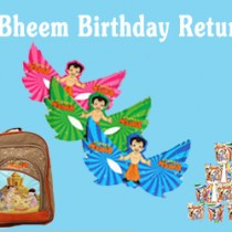 Chota Bheem Birthday Return Gifts for Kids