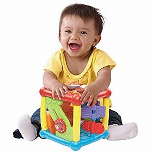 Vtech Busy Learners Activity Cube - baby First Birthday Gift