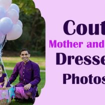 Indian Family Dress Set for Birthday Party